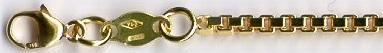 VENETIAN - zlatý řetízek - benátský (venezia) vytvoř si vlastní řetízek KVD 040