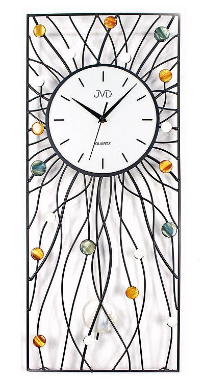 Moderní kyvadlové pendlovky hodiny JVD design HJ42