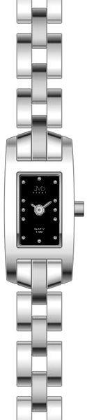 Dámské nerezové ocelové stříbrné hodinky JVD L80