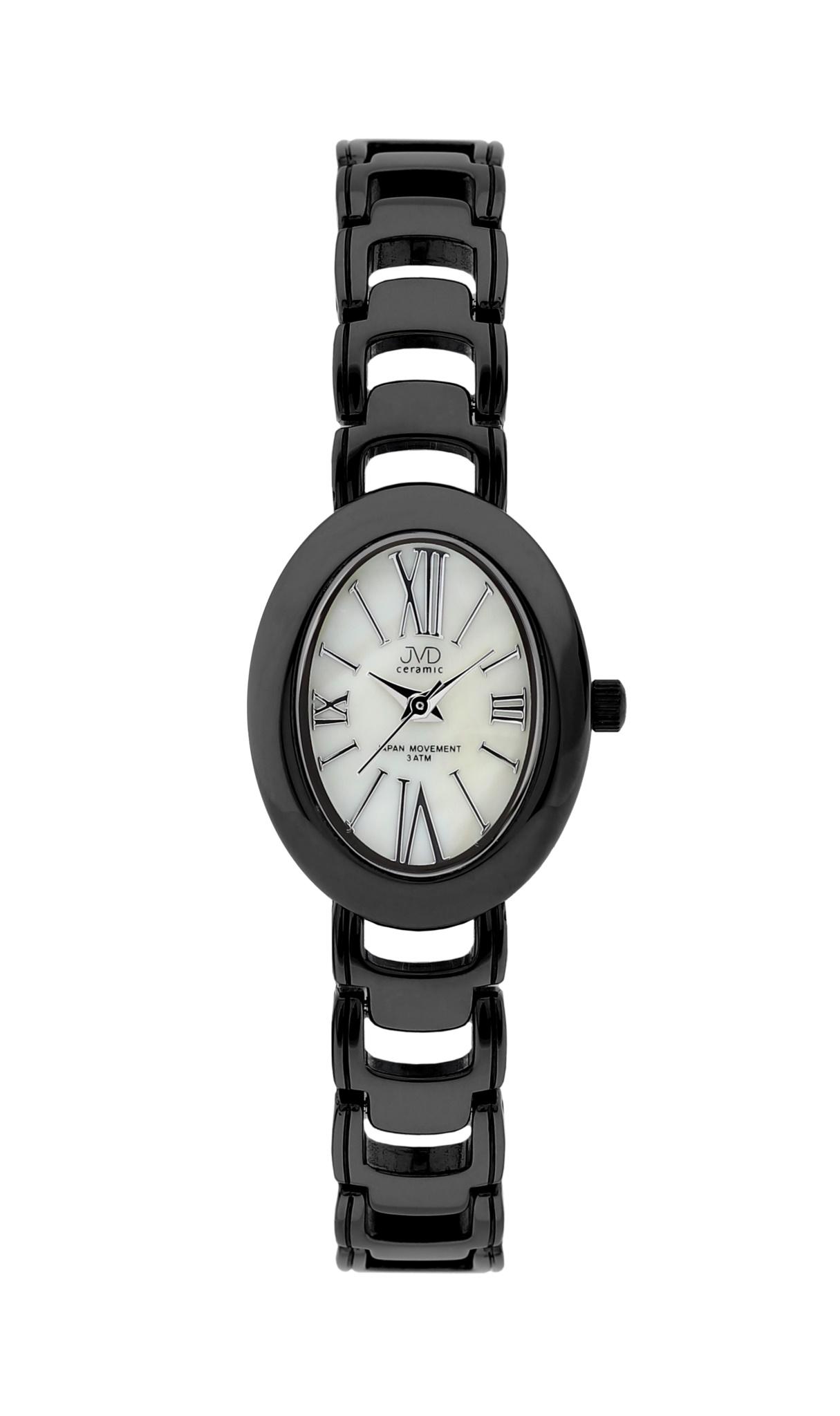 Luxusní keramické dámské náramkové hodinky JVD ceramic J6010.2