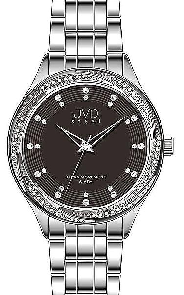 f68c784225c Dámské luxusní šperkové hodinky hodinky JVD steel J4121.1 s římskými  číslicemi