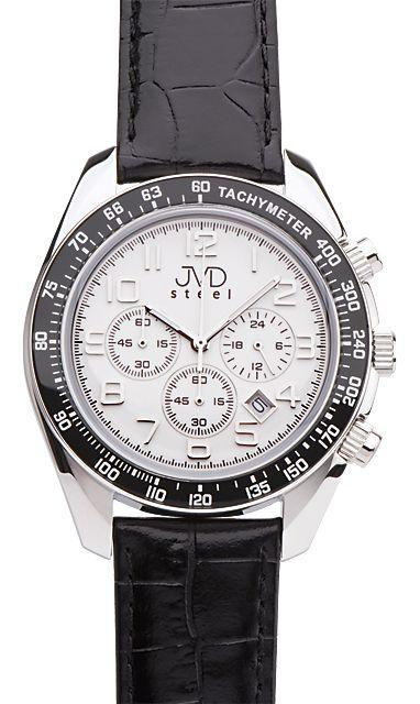 Luxusní dámské moderní hodinky JVD C1162.2 chronograf 4eccdf25ed