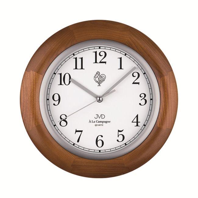 Dřevěné hodiny JVD N26065/11 francouzského vzhledu ( )