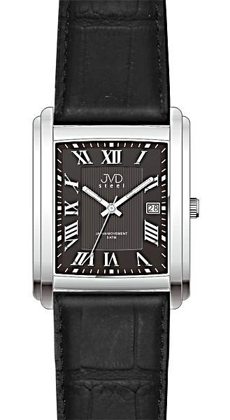 Elegantní módní hodinky JVD steel J1062.2 s římskými číslicemi
