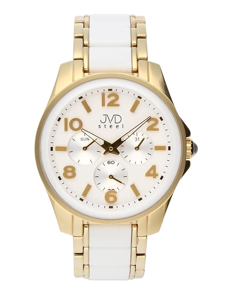 Pánský luxusní chronograf náramkové voděodolné hodinky JVDW W56.5 (55)