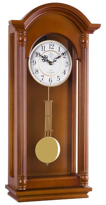 Kyvadlové skříňové melodické dřevěné hodiny JVD N20123/41