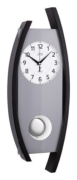 Rádiem řízené dřevěné kyvadlové hodiny JVD NR12092/23 POŠTOVNÉ NEPLATÍTE!!! (POŠTOVNÉ ZDARMA!!)
