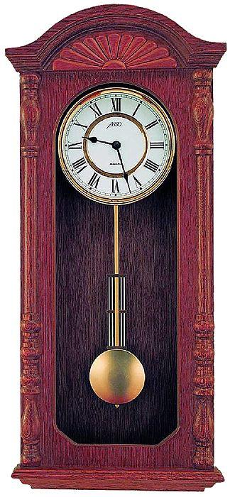 Dřevěné nástěnné hodiny ASSO A19/327/7