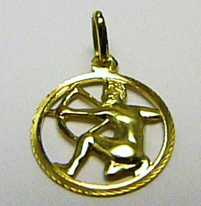 Zlatý přívěsek - zlaté znamení STŘELEC 585/0,75gr T144