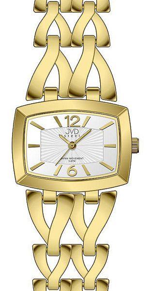 39eb113a3 Dámské stříbrné elegantní hodinky voděodolené JVD steel J4070.2 ...