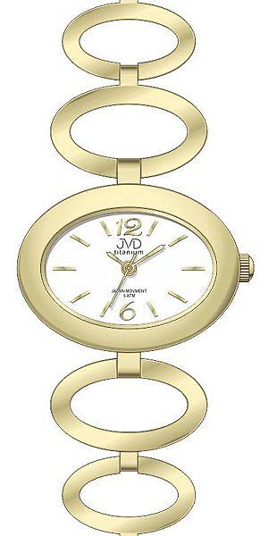 Dámské titanové antialergické hodinky JVD titanium J5023.1 - 5ATM