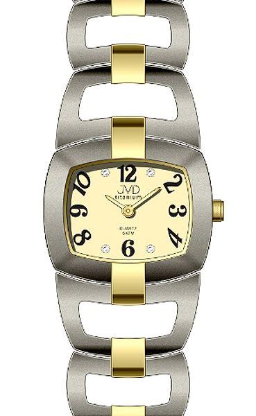 Dámské titanové voděodolné luxusní hodinky JVD titanium J5003.1