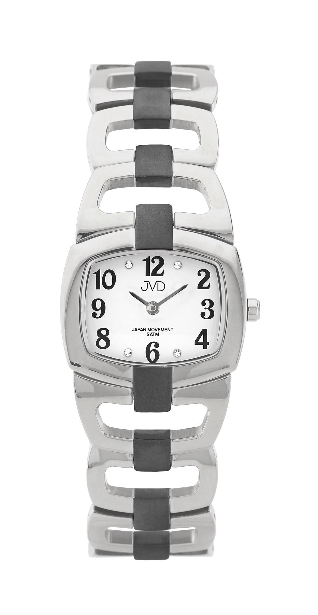 Dámské titanové voděodolné luxusní hodinky JVD titanium J5003.3