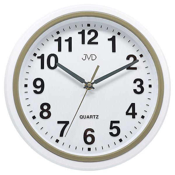 Plastové kuchyňské moderní hodiny JVD sweep HA41.2