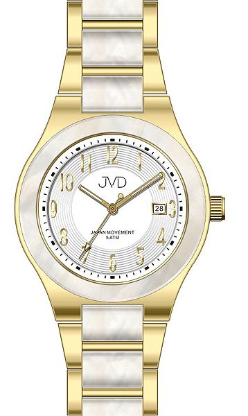 Luxusní keramické voděodolné hodinky JVD J1098.2 UNISEX