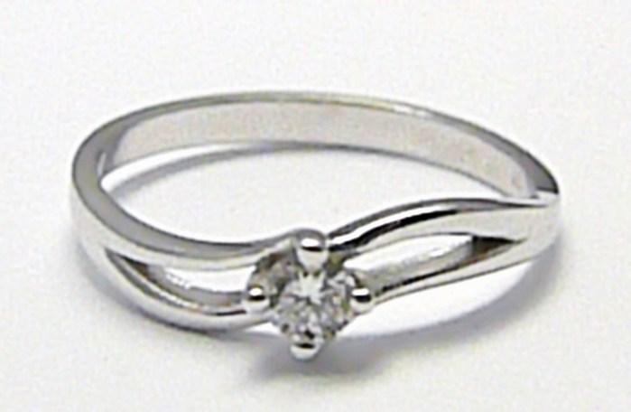 Zlatý zásnubní prsten s přírodním diamantem 585/2,04 gr vel. 56 D004 (J-24576-14)