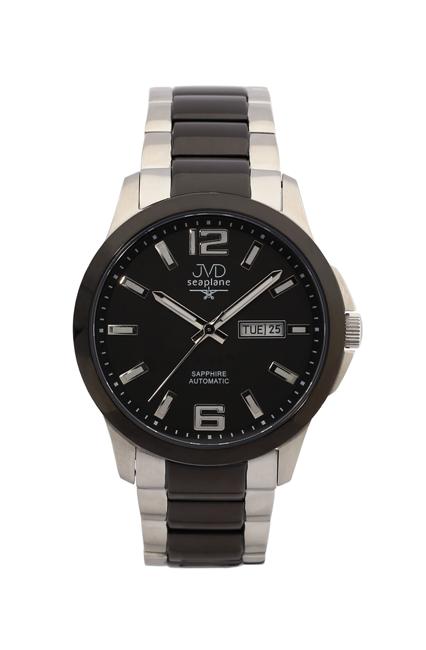Samonatahovací automaty pánské chronografy hodinky JVD seplane JS29.1 se safírem