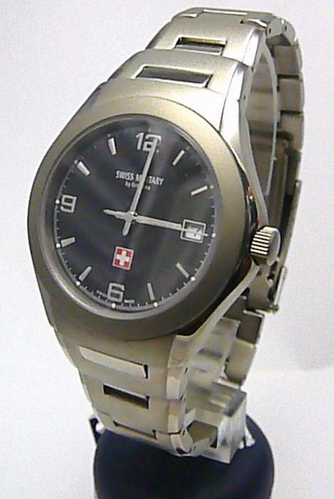 Pánské švýcarské celotitanové hodinky Grovana SWISS ALPINE MILITARY 1520.1197SM
