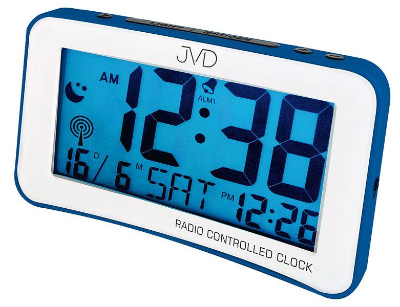 Digitální moderní rádiem řízený budík JVD RB860.2