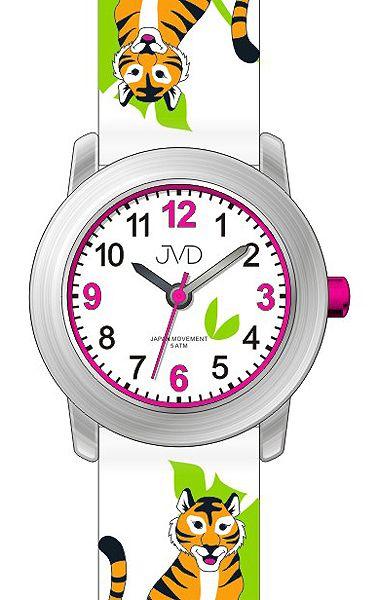 Dětské hodinky JVD J7151.4 s motivy džungle