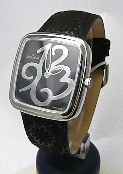 Dámské švýcarské hodinky Grovana 4413.1537 se safírovým nepoškrabatelným sklem