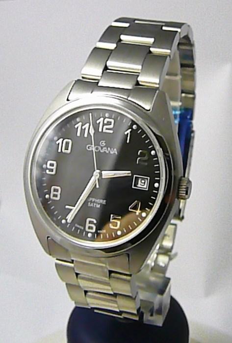 Pánské švýcarské hodinky Grovana 1565.1134 se safírovým nepoškrabatelným sklem (7500)
