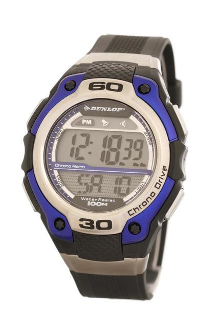 Vodotěsné sportovní digitální hodinky DUNLOP DUN-141-G03 - 10ATM