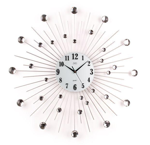 Velké obrovské paprskovité designové hodiny JVD HJ20 - 70cm