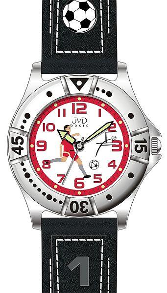 Chlapecké sportovní fotbalové hodinky JVD J7072.3 pro fotbalistky 5ATM