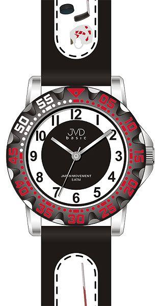 Fotbalové chlapecké sportovní hodinky JVD J7078.2 pro fotbalisty - 5ATM