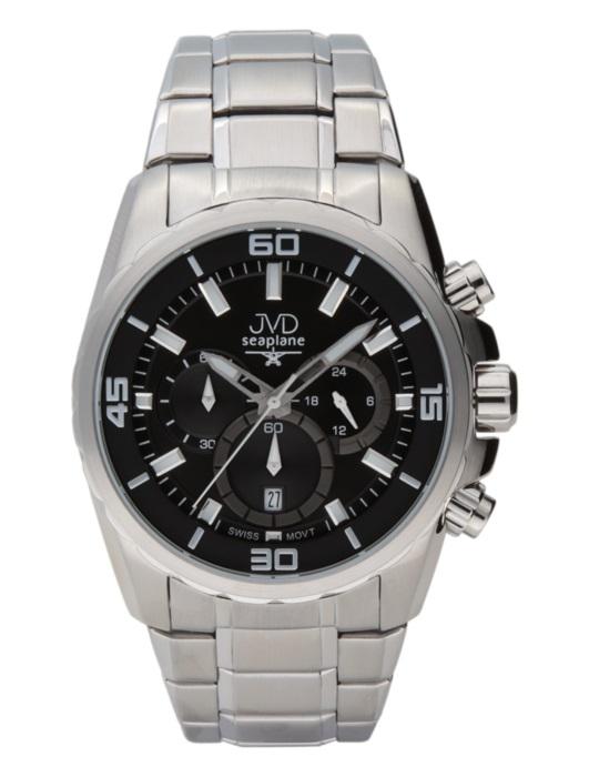 Luxusní vodotěsné sportovní hodinky JVD W81.1 chornograf se stopkami
