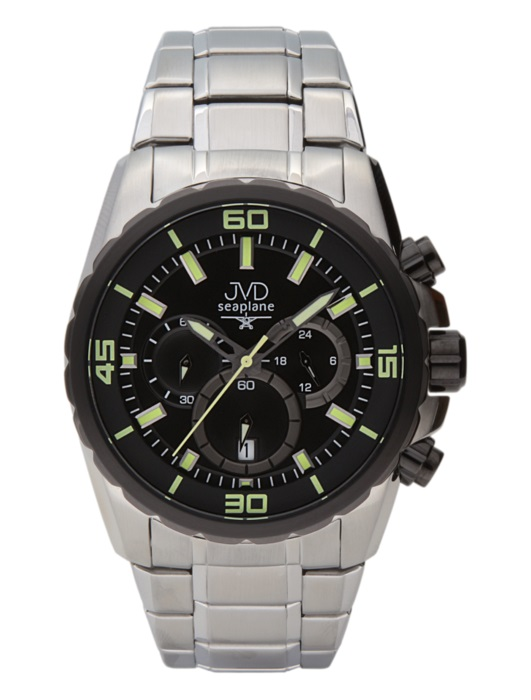 Luxusní vodotěsné sportovní hodinky JVD W81.2 chornograf se stopkami