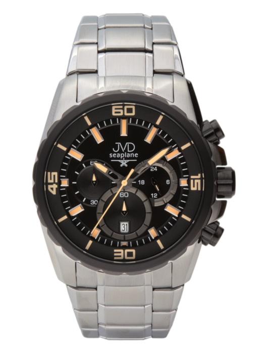 Luxusní vodotěsné sportovní hodinky JVD W81.3 chornograf se stopkami