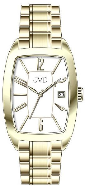 9e7129c68 Dámské ocelové módní zlacené hodinky JVD W79.2