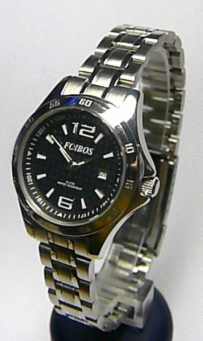 Sportovní dámské vodotěsné ocelové společenské hodinky FOIBOS 2539.1