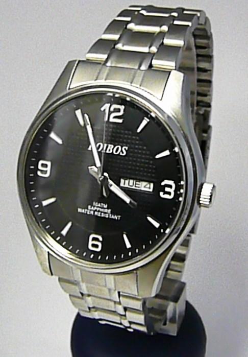 Vodotěsné ocelové pánské hodinky Foibos 6370.2 se safírovým sklem - 10ATM 8d047ac6cf