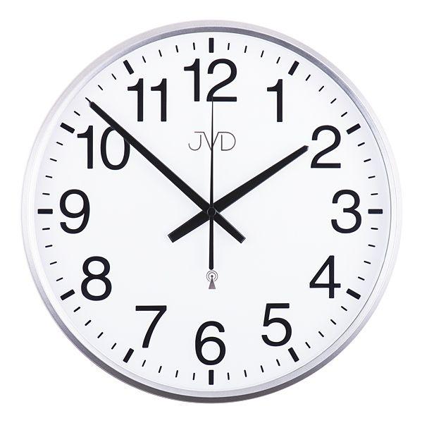 Rádiem řízené nástěnné hodiny JVD RH684.1 - řízené signálem DCF77