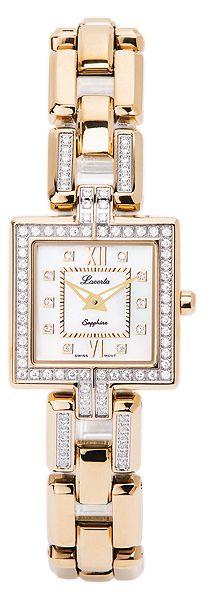 Značkový švýcarské dámské hodinky Lacerta FAITHFUL 751 M7 590 s nepoškr. sklem