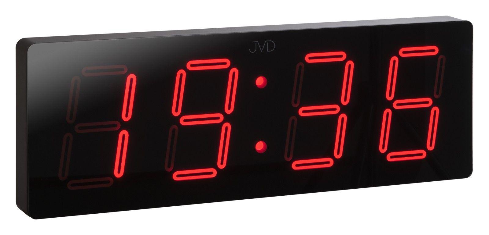 Velké svítící digitální moderní hodiny JVD DH1.1 s červenými číslicemi (POŠTOVNÉ ZDARMA!!)