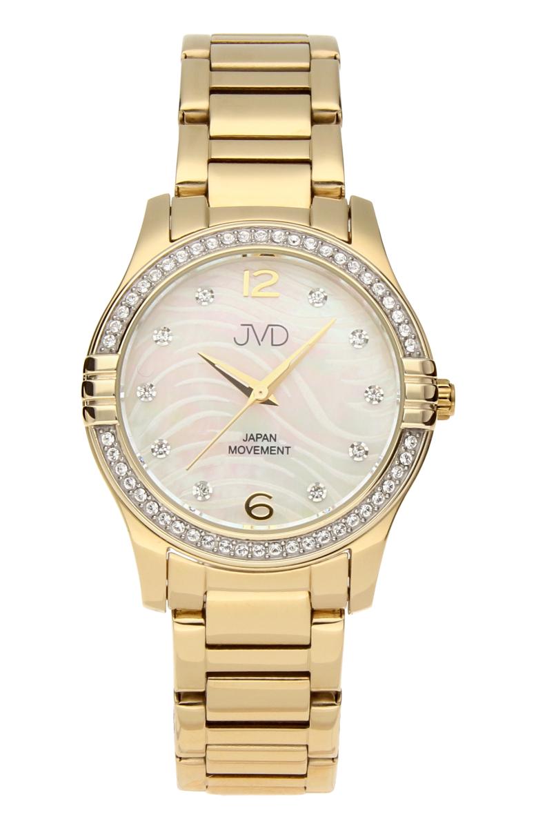Šperkové perleťové nerezové dámské hodinky JVD JC164.2 - 5ATM ... fd01597537