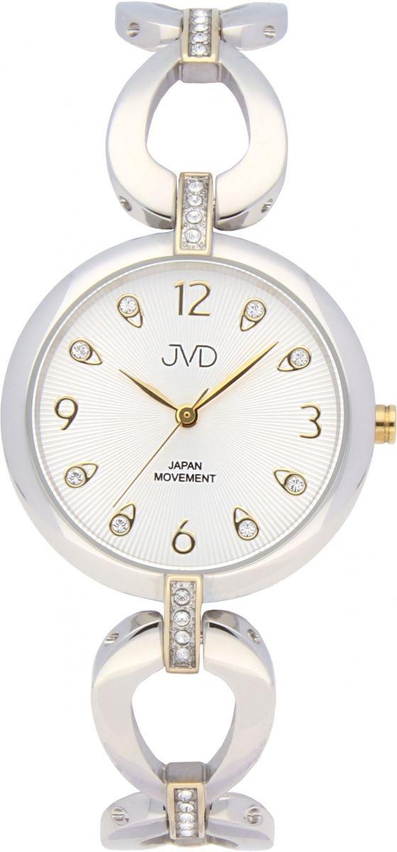 babcf2f8cab Dámské ocelové nerezové šperkové hodinky JVD JC081.4 - 5ATM
