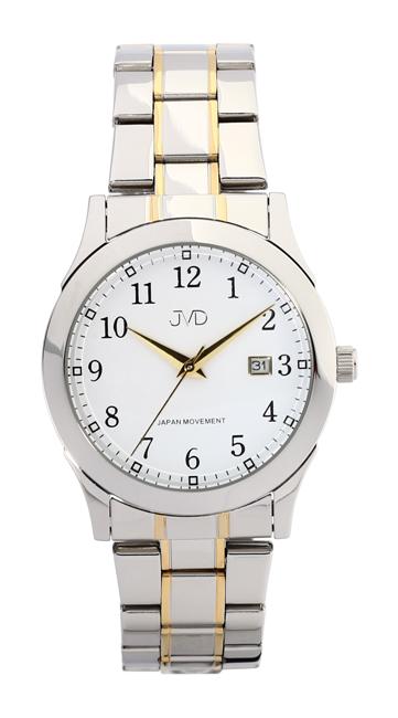 Pánské voděodolné ocelové hodinky JVD W85.3 - 5ATM