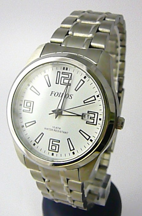 Moderní ocelové pánské značkové vodotěsné hodinky Foibos 6188.2 - 10ATM