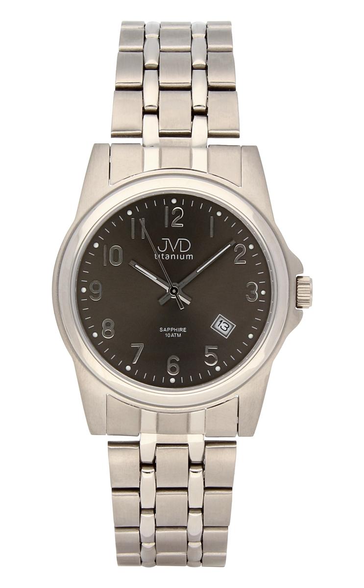 Pánské titanové antialergické vodotěsné hodinky J2005.3 se safírovým sklem 10ATM (POŠTOVNÉ ZDARMA!!)