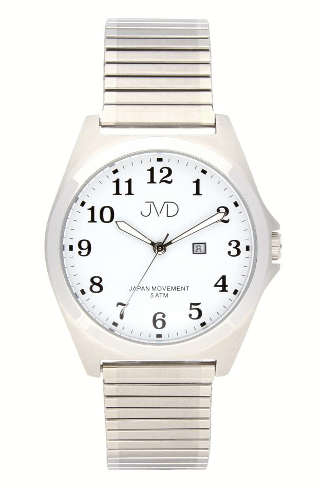Pánské nerezové voděodolné hodinky J1106.1 na natahovacím pásku IPGold (POŠTOVNÉ ZDARMA!!)