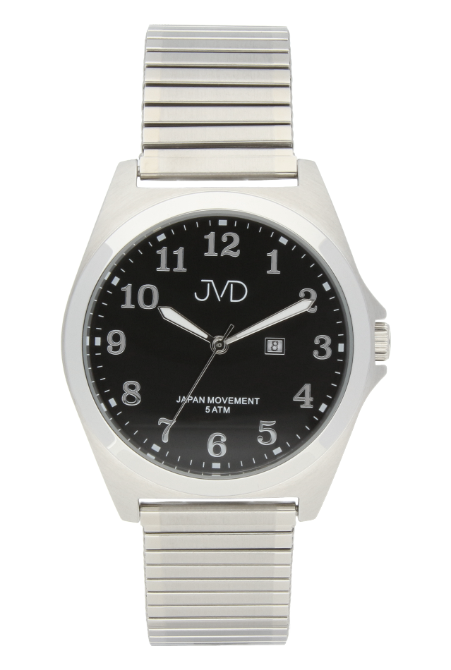 Pánské nerezové voděodolné hodinky J1106.2 na natahovacím pásku IPGold (POŠTOVNÉ ZDARMA!!)