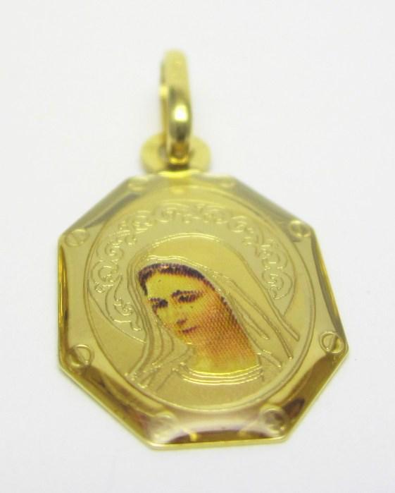 Zlatá madonka - zlatá madona přívěsek 585/1,04gr H660
