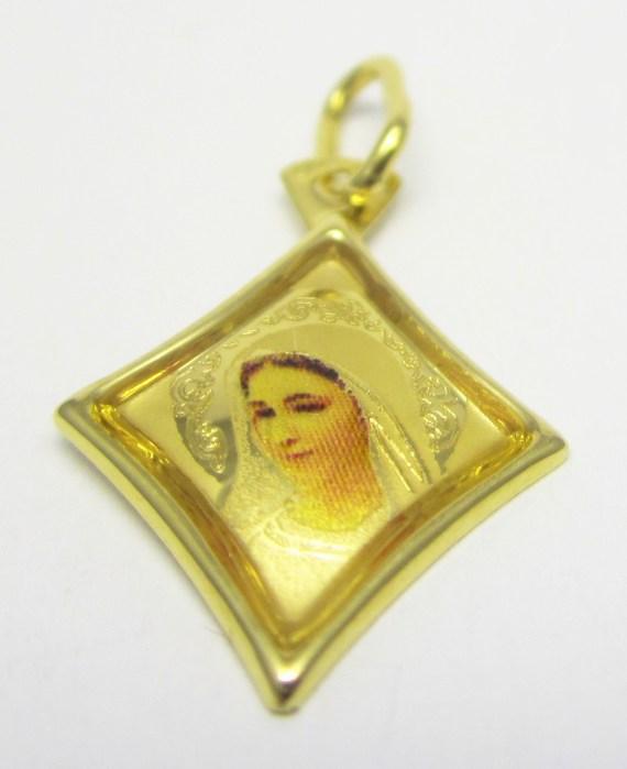 Zlatá madonka - zlatá madona přívěsek 585/0,55gr H661
