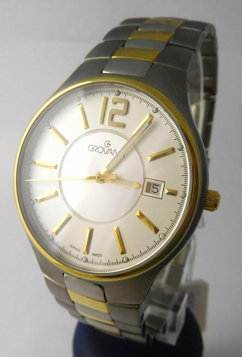 Pánské švýcarské celotitanové hodinky Grovana 1503.1122 (1503.1122)