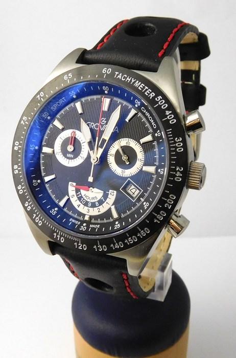 Luxusní pánské švýcarské hodinky Grovana 1622.9537 s antireflexním sklem (1622.9537)